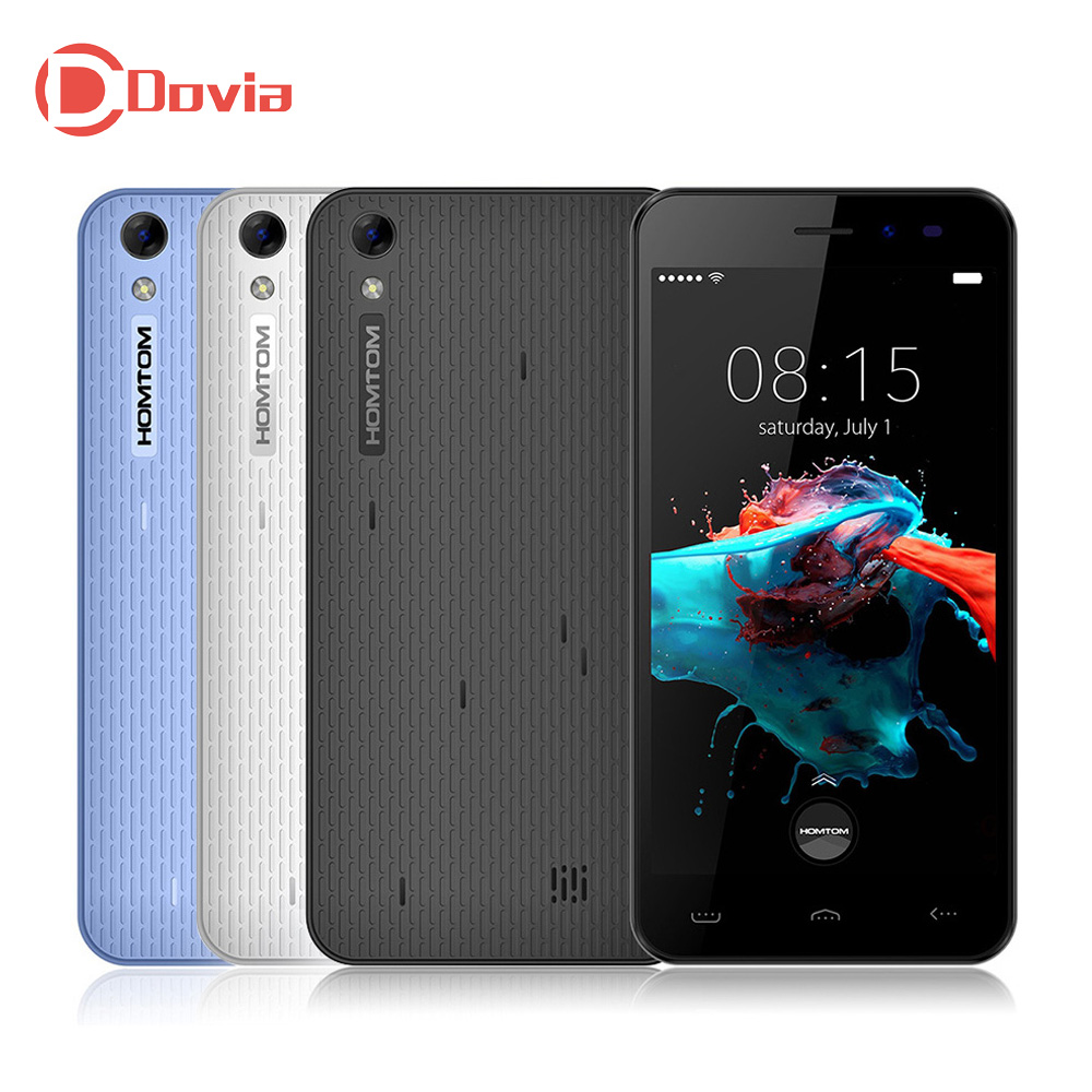 HOMTOM HT16 3G Smartphone 5 0 Inch Android 6 0 MT6580 Quad Core Cell Phone 1G