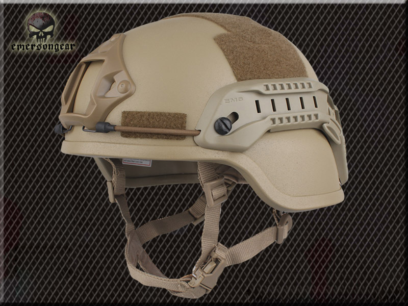EMERSON Dark Earth MICH 2000 Helmet Masks Special action version bicycle helmet TAN