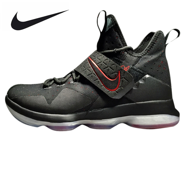 new product 0c60a 38dc7 NikeE LeBron 14 XMAS EP Men s Basketball Shoes, Black, Shock Absorbing  Breathable Impact Resistant Non-slip 921084 004