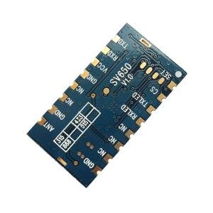 Image 2 - Sv650の500メガワット3キロメートル433 mhz無線トランシーバモジュールttl rs485 rfデータ送信機モジュール