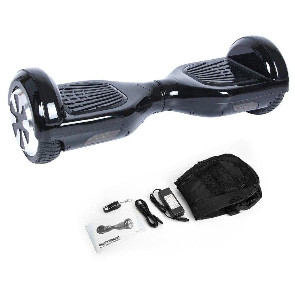 Hoverboard 6.5 pouce Bluetooth Haut-Parleur Scooter Planche À Roulettes Auto balance électrique Hoverboard Adulte Enfant UL 2272 balance board