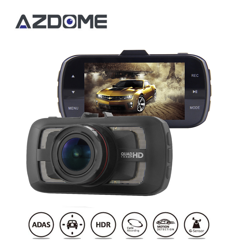 Original DAB205 3.0 LCD Ambarella A12 Car Dash Camera DVR Video Recorder HD 1440P 30fps Up to 512GB Free Shipping! irresistible