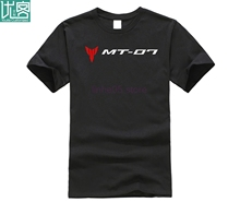 2019 New Summer Cool Tee Shirt Japanese Street Motorcycle MT07 PRINTED T-SHIRT Cotton T-shirt