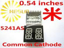 Module d'affichage LED rouge, 50 pièces x 0.54 pouces, Cathode commune/Anode 2, Tube numérique 5241AS 5241BS