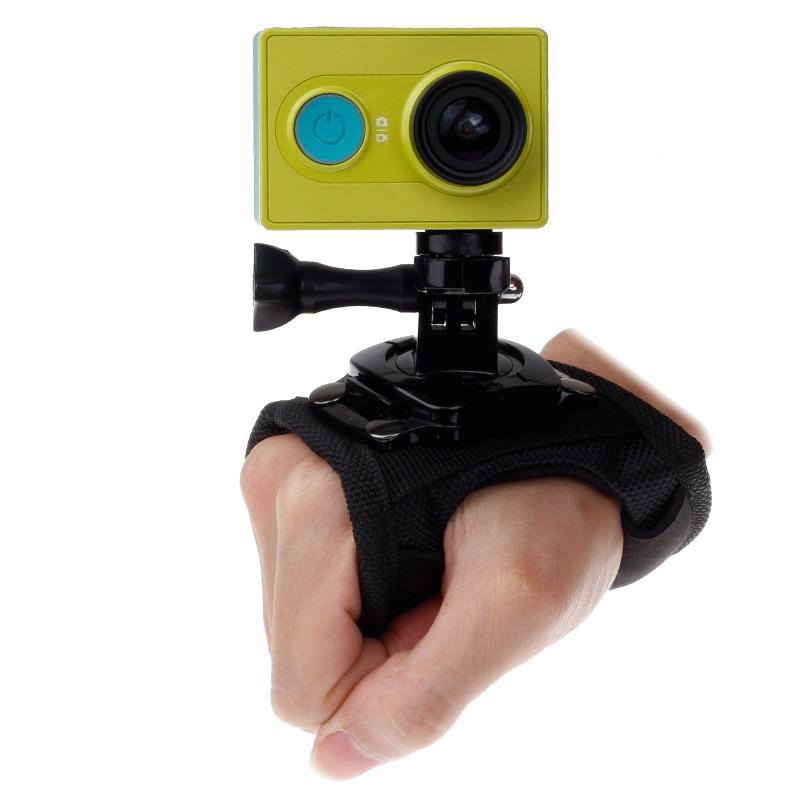 Titular de la banda Correa De Muñeca Ajustable de Montaje para GoPro Hero 3 4 5 6 7 cámaras de acción
