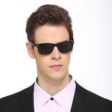 RBUDDY Polarized Sunglasses Men Classic Square Rivet Shades Driver's glasses Brand Designer Sun glasses oculos de sol masculino