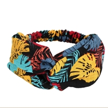 nd Knot Elastic Haidbands For Women