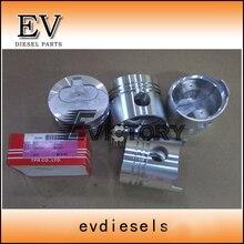Para o motor Nissan SD23 12011-09W01 pistão e anel de pistão set