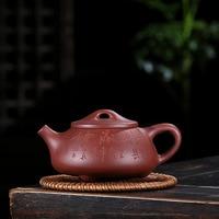 Yixing recommended stone teapot pure manual raw ore purple clay teapot chinese kung fu tea pot da hong pao tea infuser
