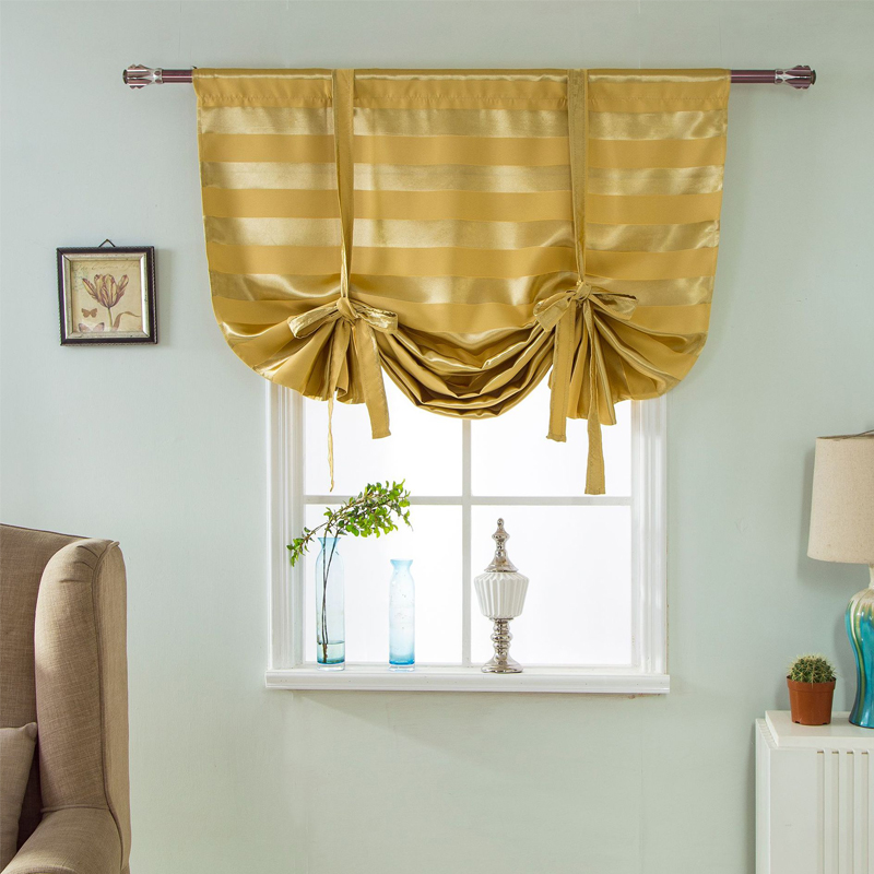 Roman Curtains blinds window treatments For Living Room
