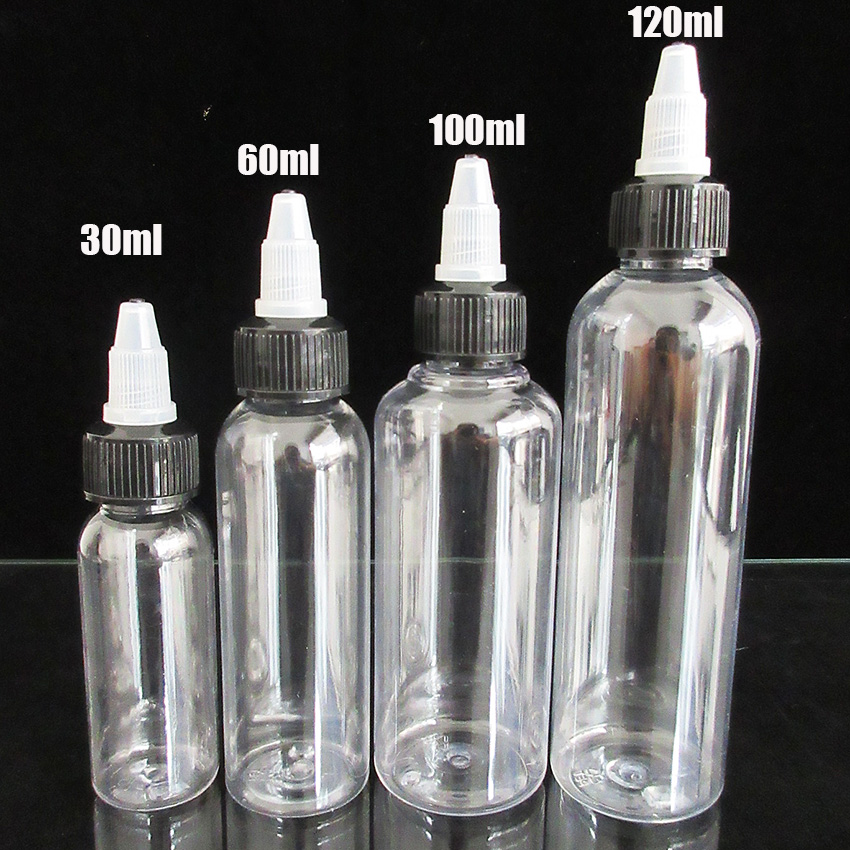 5pcs 30ml 60ml 100ml120ml PET Bottle ELiquid Refillable Dropper Bottle ,Unicorn Pen Shape With Twist Off Cap,Empty Ejuice Bottle 5pcs 5 10 15 20 30 50ml new shape pet e liquid dropper bottle with normal screw cap and plastic needle