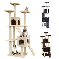 72 Cat House Climbing Tower Condo Tree Scratching Post Furniture Kitty Play Toy Cat Toy Cat Gifts 905