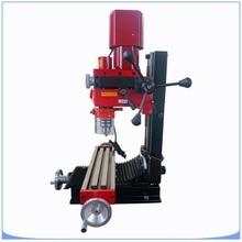 เครื่องกัด CNC แนวตั้งขนาดเล็กเกียร์ไดรฟ์เจาะเครื่องกัด 50  2500 rpm