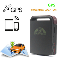 Free Shipping TK102B Car Vehicle GPS GSM GPRS Tracker with SOS Over speed Alarm Mini Vehicle Tracking Locator Device