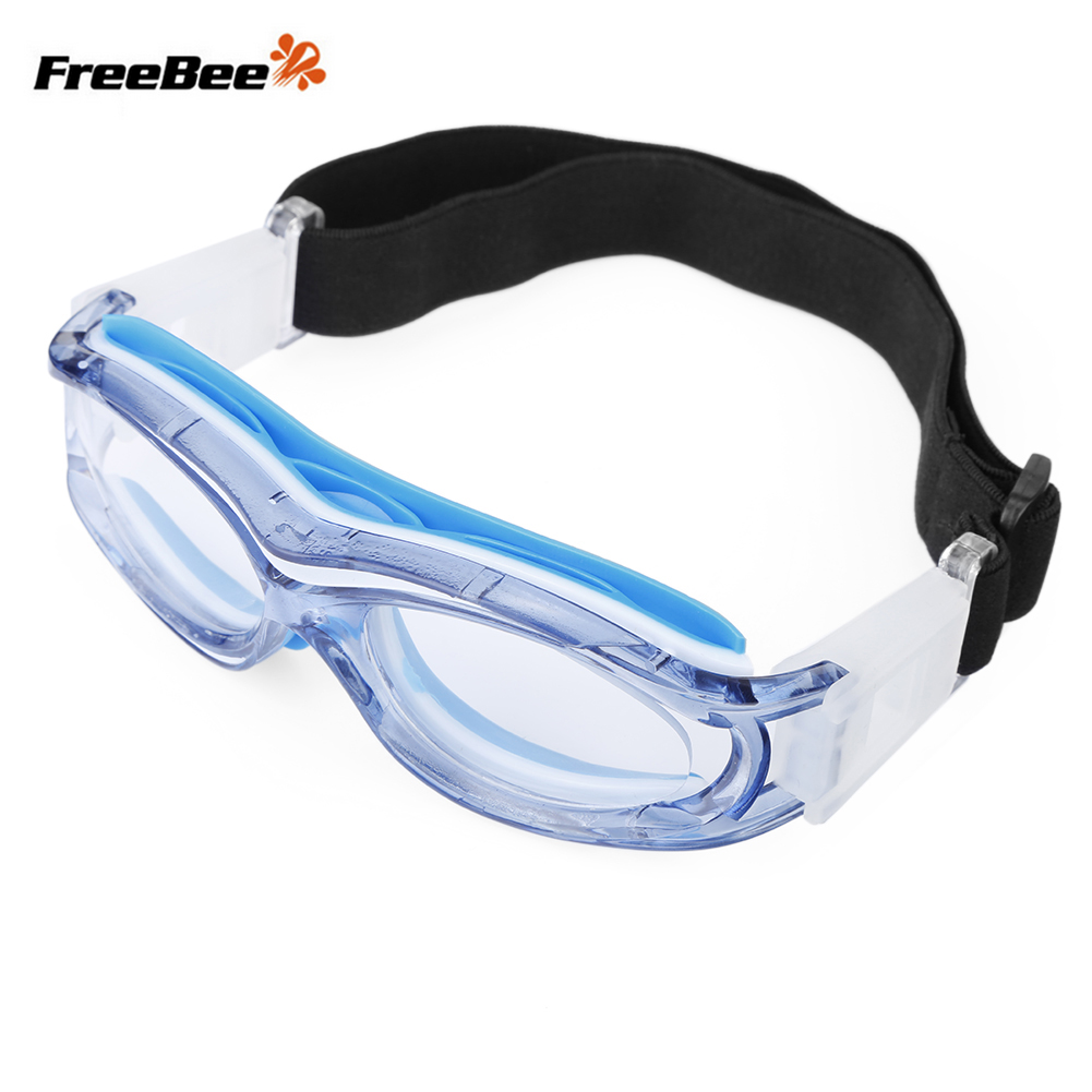 d596b8fbb78 FreeBee Children Anti-fog Basketball Glasses Eyewear with Adjustment Strap  for Volleyball Hockey Rugby Soccer