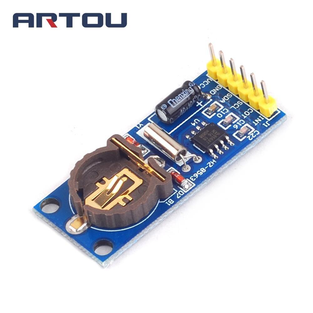 1 шт. PCF8563T модуль синхронизации RTC модуль для обеспечения оригинальные ...