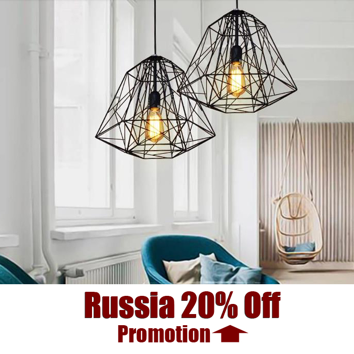 Creative diamond Ceiling Lights Black Iron industrial lamp vintage Loft retro style E27 Base bar foyer parlor light оттяжка black diamond black diamond positron quickdraw 12см