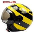 Bumblebee Motorcycle Helmet Classic Open Face Helmet Jet helmet ZERUS 210C