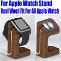 Retail Newest holder keeper Wooden Charging Stand for Apple Watch Charging Stand for apple watch with Cutout for Cable AW05