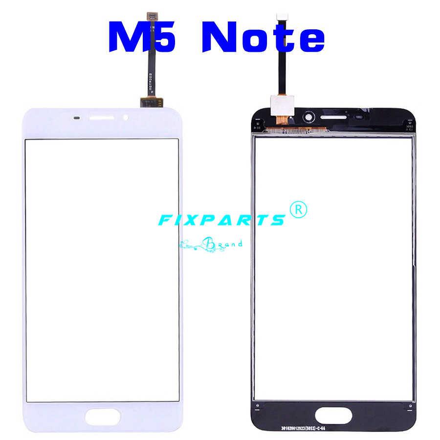 أعلى جودة الخارجي الزجاج لوحة Meizu M5s محول الأرقام بشاشة تعمل بلمس ل Meizu M5 M5 قطع غيار صغيرة Meizu M5 ملاحظة الاستشعار عدسة