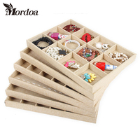 Free Shipping Mordoa Double Row 20 Position Bracelet Jade Bracelet Jewelry Packaging Tray Display Props Receive
