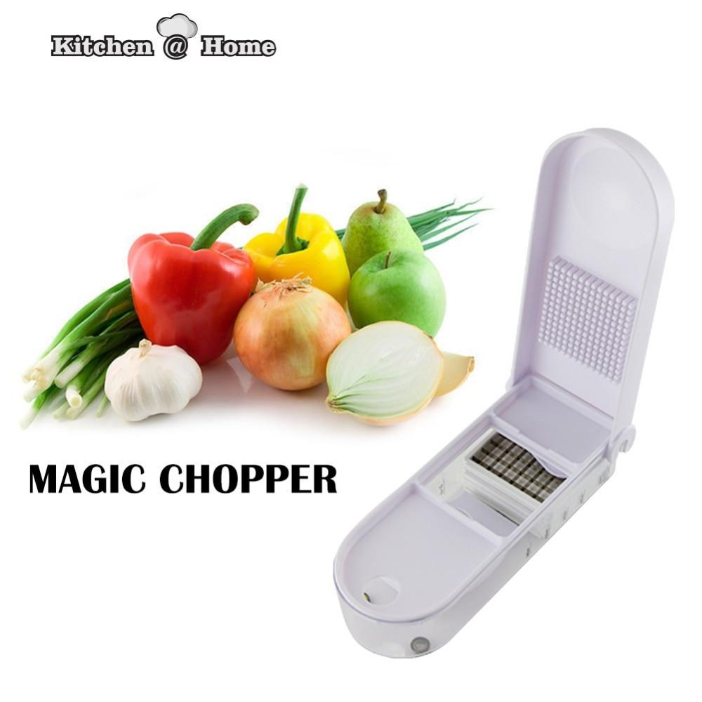 Amazing Kitchen Magic Reviews #2: Magic Chopper Kitchen Pro Slice Dicer Chop Vegetables Fruit Grater Cutter Measuring Cup Grid Fork K054