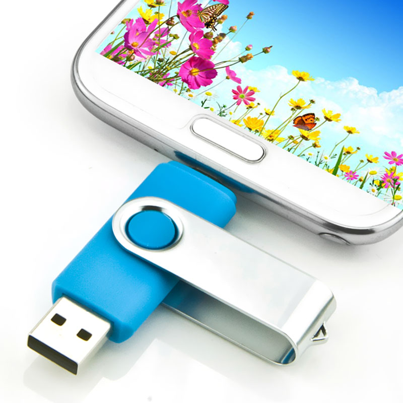 Smart phone USB2 0 Flash Drive OTG 4gb 8gb 16gb 32gb 64gb Pen drive external storage