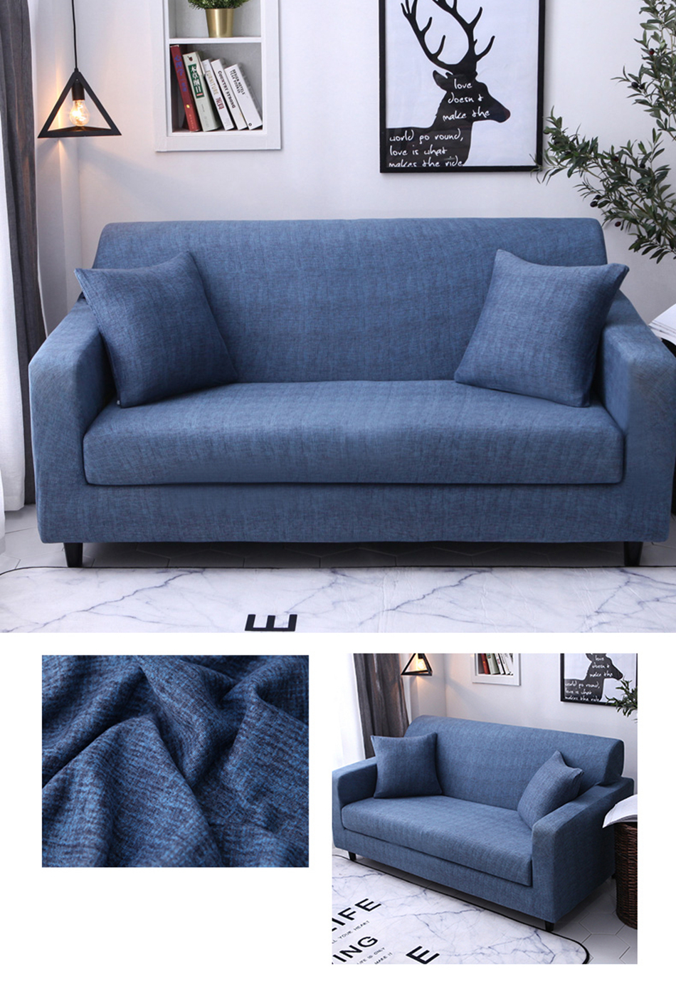 Astonishing Plaid Sofa Cover Stretch Seat Couch Covers Loveseat Short Links Chair Design For Home Short Linksinfo