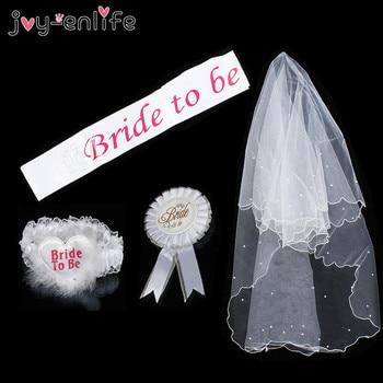 6bda17c5c6 JOY-ENLIFE 1 boda novia a ser Rosette Mantilla placa MARCO DE BODA liga de  fiesta novia despedida de soltera fiesta regalo