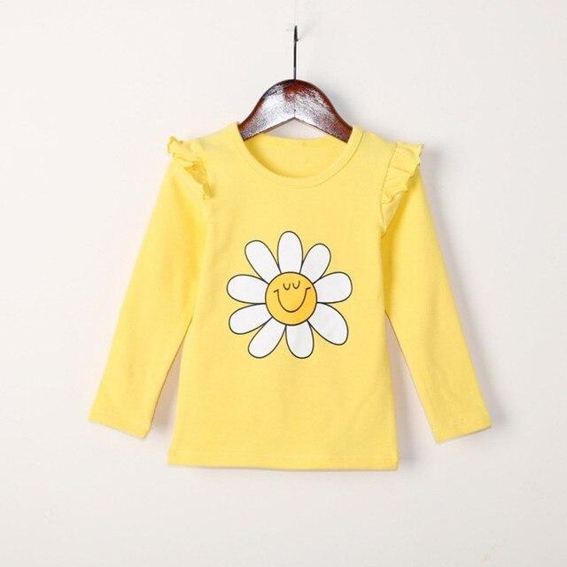 b737c7a936f8 Aliexpress.com   Buy T shirt For Girls Toddler Kids Clothes Cartoon ...