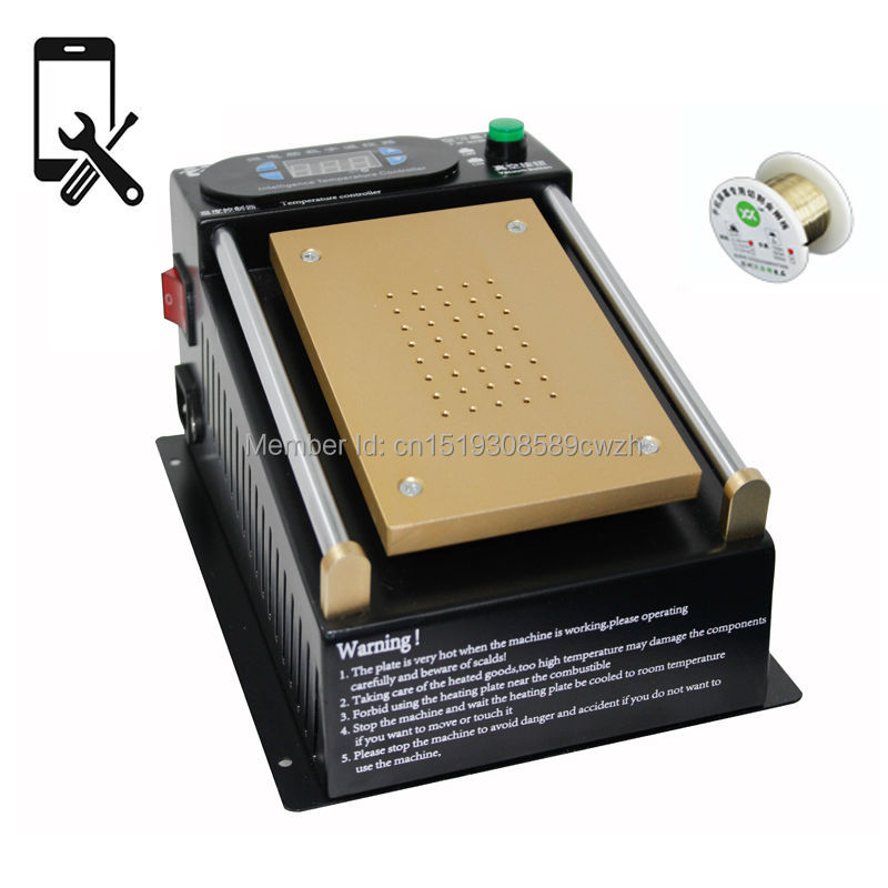 2 in 1 Manual Screen Separating Machine for Mobile Repair Removing Broken Glass with Cutting Wire