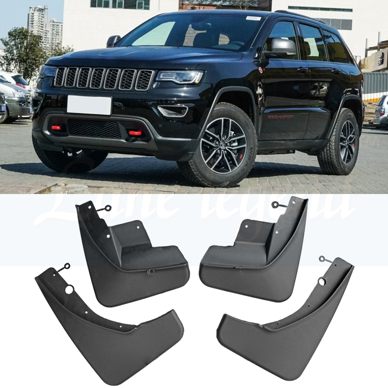 For Jeep Grand Cherokee WK2 2011-2018 Set Front Rear Car Mud Flaps Mudflaps Splash Guards Mud Flap Mudguards 2012 2013 2014 2015For Jeep Grand Cherokee WK2 2011-2018 Set Front Rear Car Mud Flaps Mudflaps Splash Guards Mud Flap Mudguards 2012 2013 2014 2015