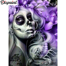 Dispaint Full Square/Round Drill 5D DIY Diamond Painting Painted woman Embroidery Cross Stitch Home Decor A10529