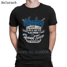 e63f97ca2 Ice Hockey Gate Hockey Team Sport Ice Sports Gift Tshirt Branded Designs  Hiphop Top Cotton Tshirt
