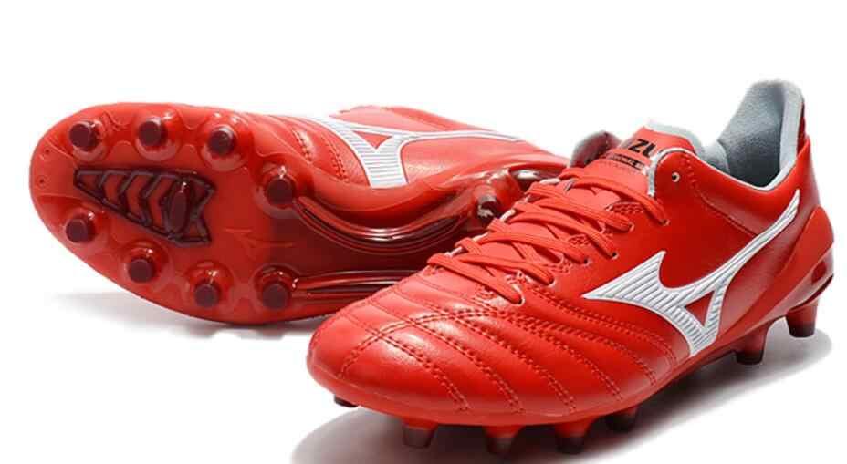 9b2473822baa6 Mizuno Morelia Neo Mix Mizuno Wave Ignitus 4MD Basara FG Soccer Spikes Men  Running shoes Red