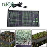 Seedling Heat Mat Plant Seed Germination Propagation Clone Starter Pad Waterproof Garden Supplies US UK EU Plug|seedling heat mat|seed germinatorseedling heat -