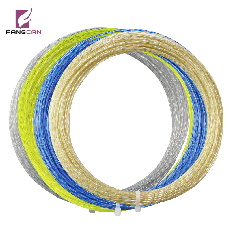 1 st FANGCAN 1,35 mm diameter Filament Polyester Tennis String Klass A Durable Tennis String 4 färger 12m