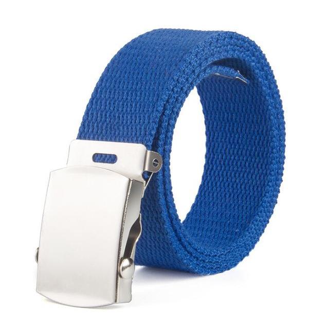 children High Quality Canvas Belt Men Women Jeans Belt Top Casual Luxury Strap Belts Boys and girls Jeans Waist Belts Cummerbund