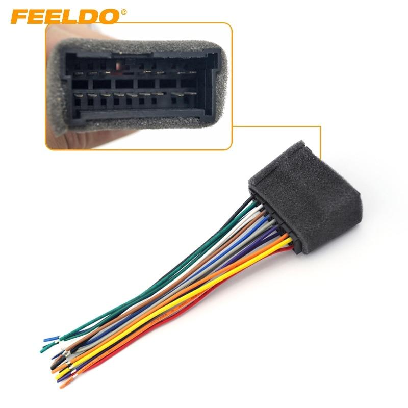 FEELDO Auto OEM Audio Stereo Kabelbaum Adapter Für Hyundai/KIA (01 ...