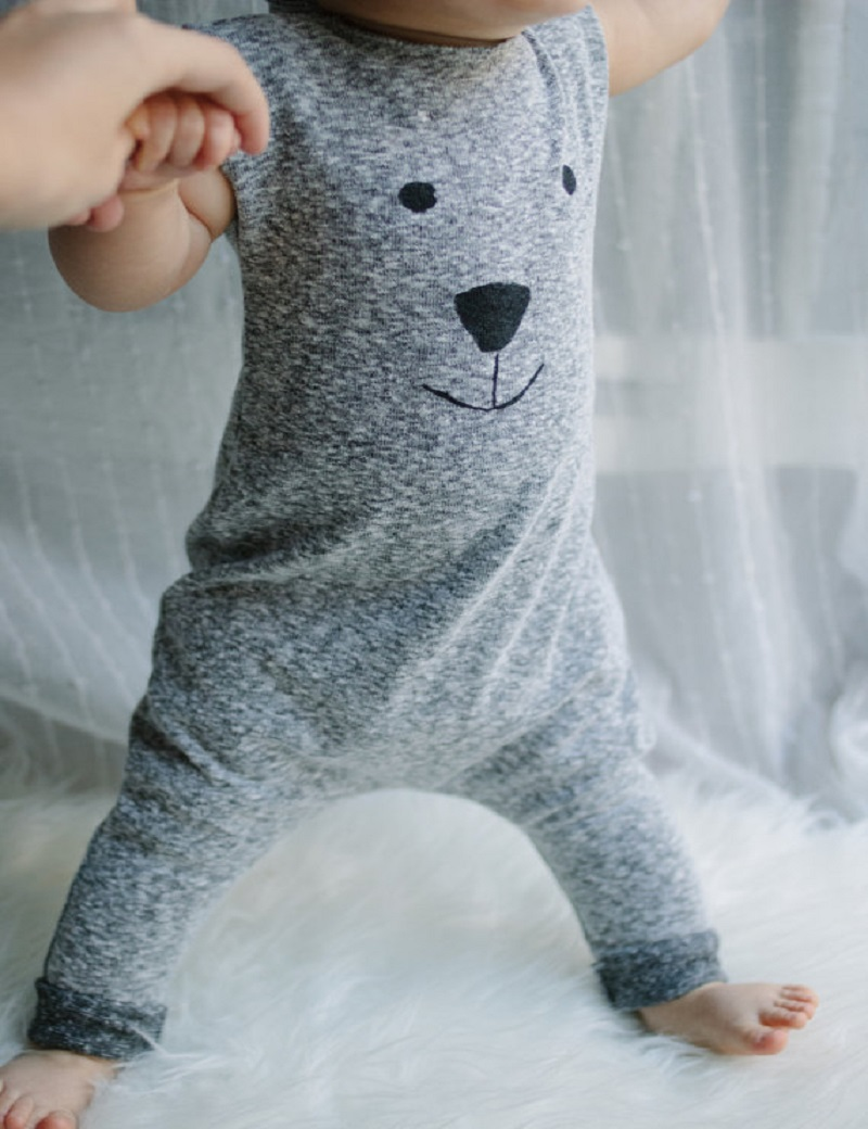 Newborn Winter   Rompers   2015 Cute Toddler Baby Girl Boy Bear Jumpers   Rompers   Playsuit Outfits Clothes 0-24M