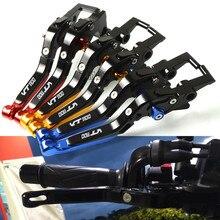 For Honda VT 1100 VT1100 1995-2007 Aluminum Adjustable Motorcycle Accessories Brake Clutch Levers Adjustable Folding Extendable for honda vt1100c vt 1100 c moto brake clutch lever motorcycle car folding extendable brake clutch levers handle