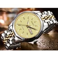 AESOP Automatic Mechanical Watch Men Luxury Sapphire Gold Men's Wristwatch Stainless Steel Male Clock Men Relogio Masculino