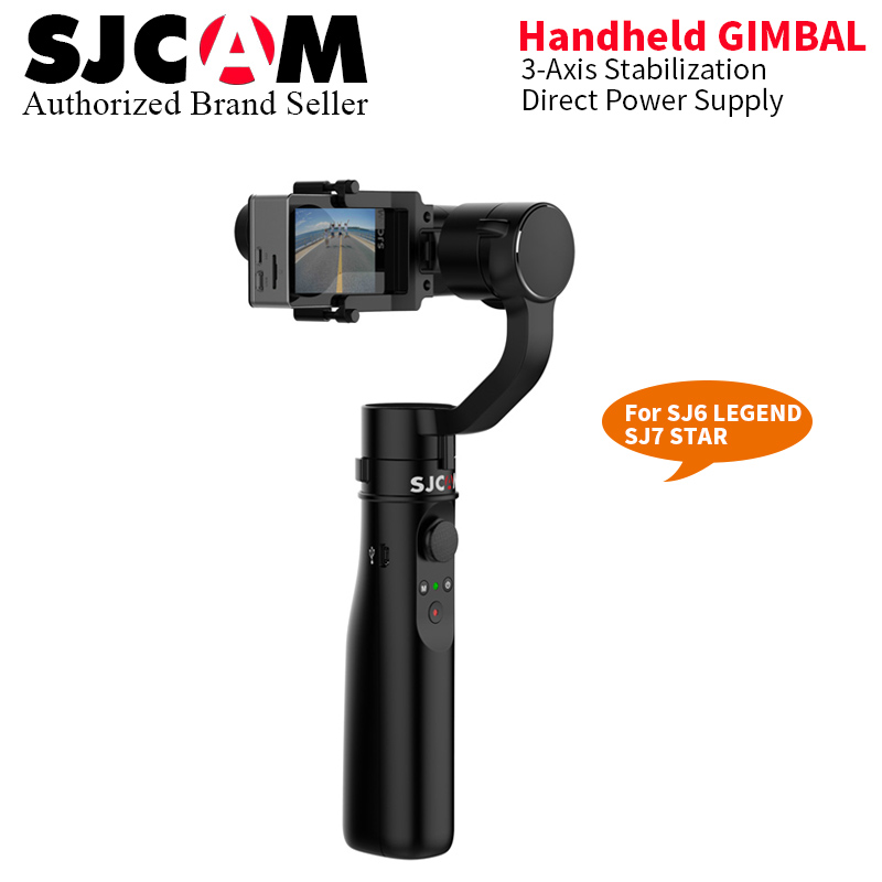 Stock SJCAM SJ7 STAR Accessories SJ6 LEGEND ACCESSIES 3 AXIS Stabilization Handheld Gimbal for SJCAM SJ6