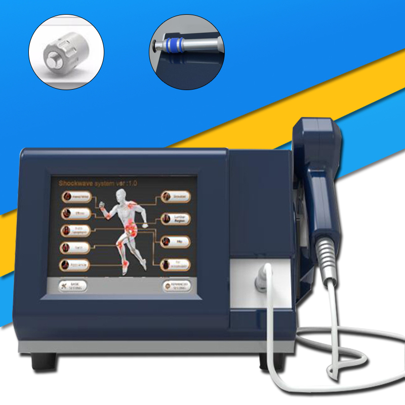 Hot Sale !!! Effective Physical Pain Therapy System Acoustic Shock Wave Extracorporeal Shockwave Machine For Pain Relief Relieve