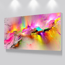 Printed Oil Painting Dropshipping Canvas Prints For Living Room Wall No Frame Modern Decorative Pictures Abstract Art Painting(China)
