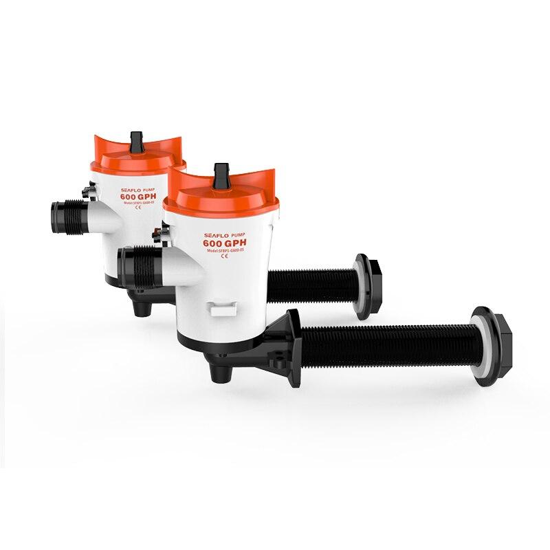 Hot Sale SEAFLO Livewell Pumps 600 GPH 12V Bilge Pumps for Marine RV
