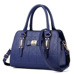 Image 2 - Vendita calda moda donna borsa in pelle inclinata femminile fiocco nodo borse a tracolla borse Lady Shopping Tote borsa a tracolla morbida Sac