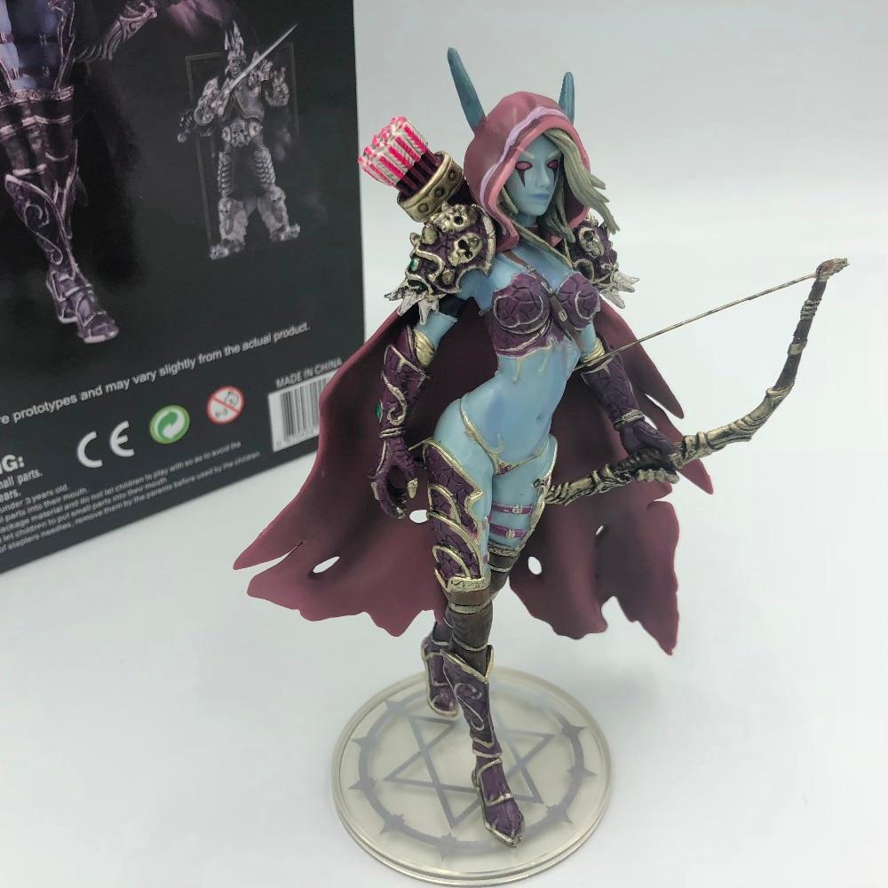 Wow Sylvanas Dark Traxex PVC Action Figure Ranger Lady Collection Modèle