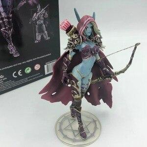 Image 4 - Sylvanas koyu Traxex PVC Action Figure Windrunner karanlık Ranger bayan koleksiyonu modeli 14cm