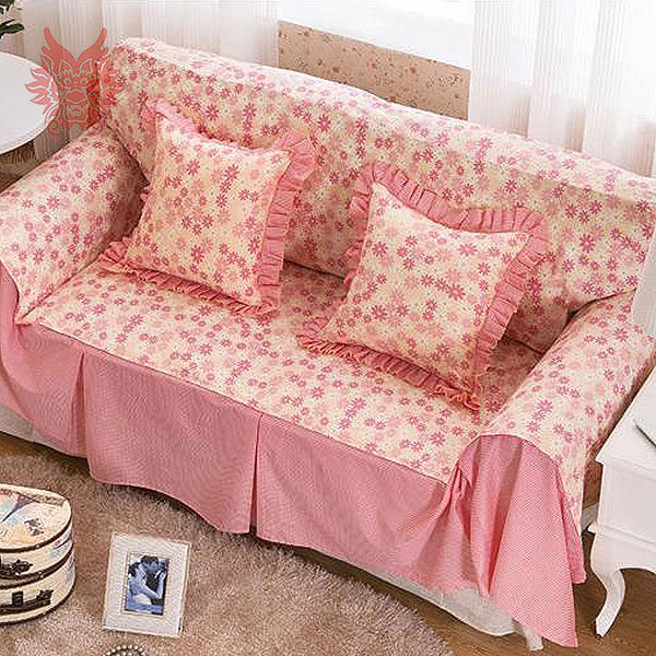 Sofa Free Delivery: Free Shipping Home Textile Pastoral Style Flower Print 100